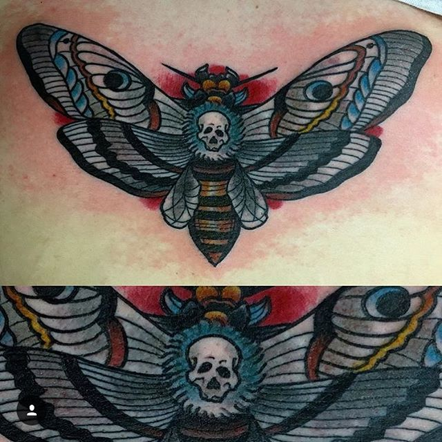 By @ghosttattooer  Click the link in our bio for more of James' work.