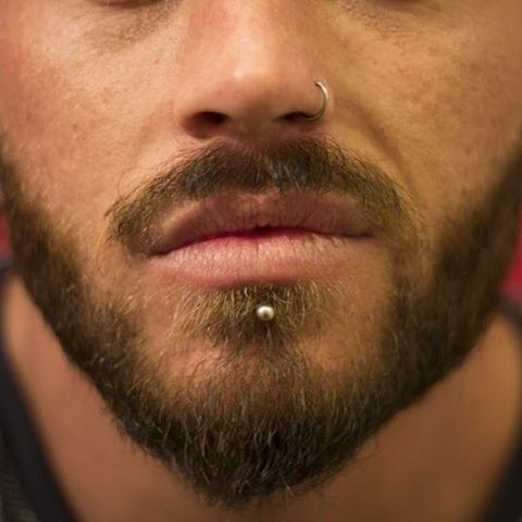 Labret and nose by James McCauley.
