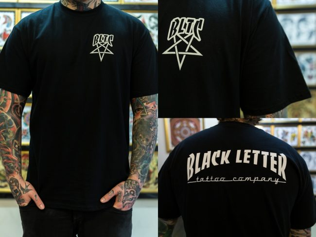 Black Letter Logo T-shirt